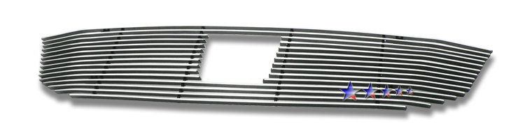 Honda Odyssey  2008-2010 Polished Main Upper Aluminum Billet Grille