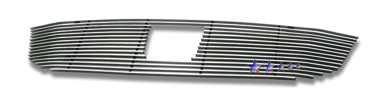 Honda Odyssey  2008-2010 Polished Main Upper Aluminum Billet Grille
