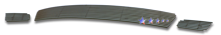 Honda Odyssey  2008-2010 Polished Lower Bumper Aluminum Billet Grille