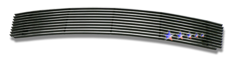 Honda Accord Sedan 2008-2010 Polished Lower Bumper Aluminum Billet Grille