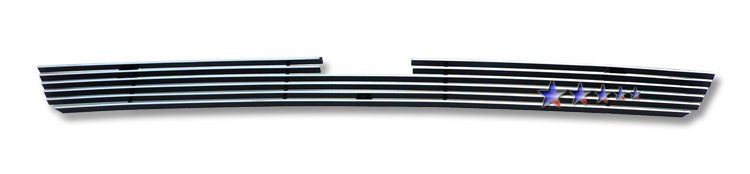 Honda Pilot  2009-2011 Polished Lower Bumper Aluminum Billet Grille