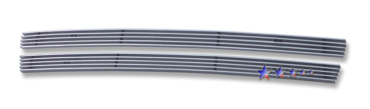 Honda Honda Fit Sport 2009-2011 Polished Lower Bumper Aluminum Billet Grille