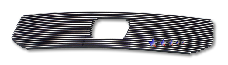 Honda Ridgeline  2009-2011 Polished Main Upper Aluminum Billet Grille