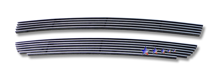 Honda S2000  2004-2009 Polished Lower Bumper Aluminum Billet Grille