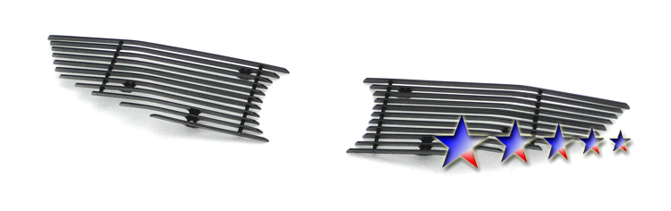 Honda Civic  2009-2011 Polished Main Upper Aluminum Billet Grille