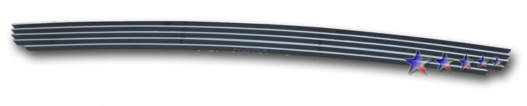 Honda Ridgeline  2009-2011 Polished Lower Bumper Aluminum Billet Grille