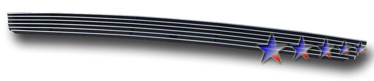 Honda Pilot  2009-2011 Polished Lower Bumper Aluminum Billet Grille