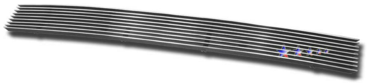 Honda Pilot  2003-2005 Polished Lower Bumper Aluminum Billet Grille