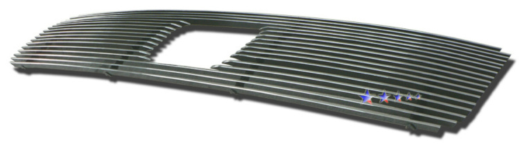 Honda Pilot  2006-2008 Polished Main Upper Aluminum Billet Grille