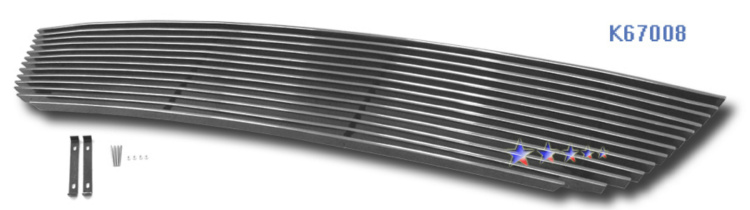 Honda Accord  2006-2007 Polished Lower Bumper Aluminum Billet Grille