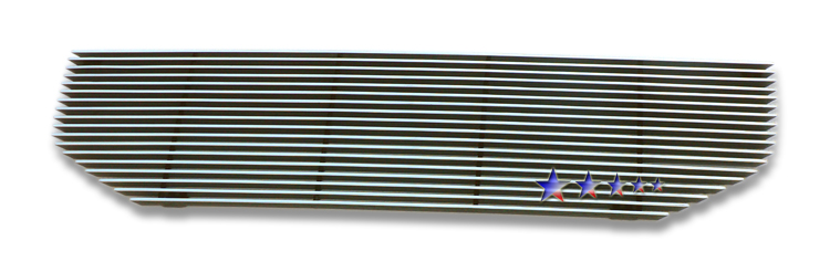 Honda Pilot  2009-2011 Polished Main Upper Aluminum Billet Grille