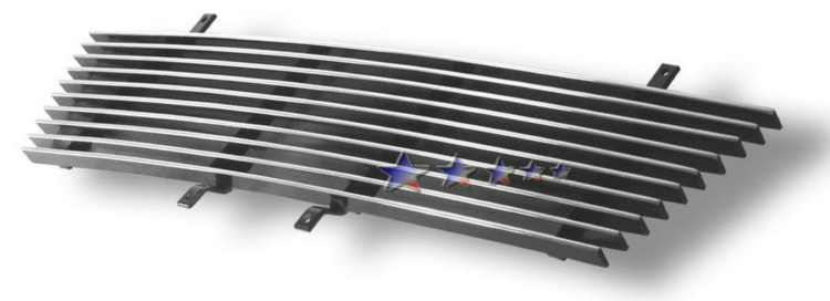 Honda Element  2003-2006 Polished Main Upper Aluminum Billet Grille