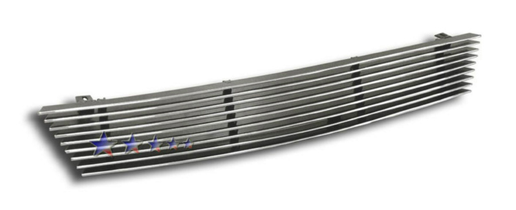 Honda Accord  1994-1997 Polished Main Upper Aluminum Billet Grille