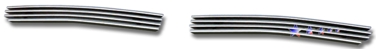 Honda Ridgeline  2005-2008 Polished Lower Bumper Stainless Steel Billet Grille