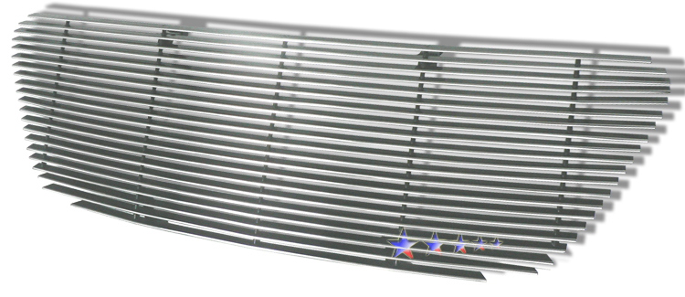 Honda Cr-V  2005-2006 Polished Main Upper Aluminum Billet Grille