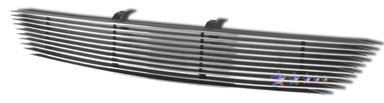 Honda Accord Coupe 2006-2007 Polished Main Upper Aluminum Billet Grille