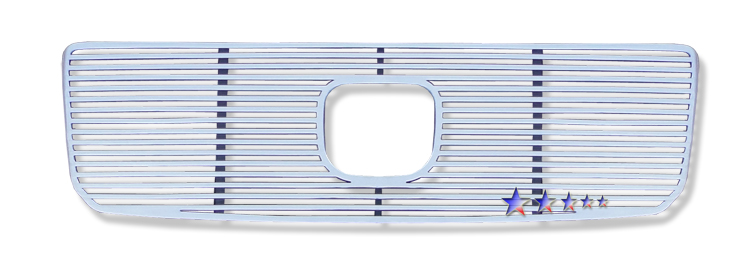 Honda Pilot  2006-2008 Polished Main Upper Perimeter Grille