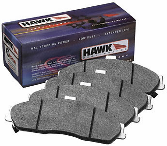 Honda Odyssey 1998-1998 Ex 2.3l W/Intergrate Parking Brake (front) Hawk Hps Street Brake Pads