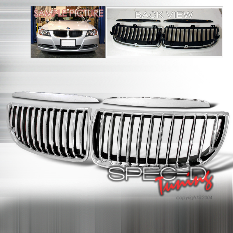 BMW 3 Series E90 325I 328I 330I 335I 2005-2008 Chrome Front Grill