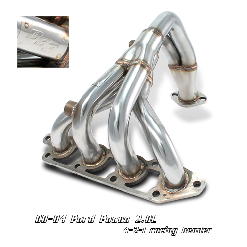 Ford Focus 2000-2004 2.0l 4-2-1  Exhaust Headers