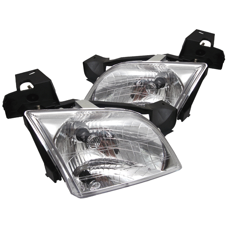 Chevrolet  Venture 1997-2005 Chrome Euro Crystal Headlights