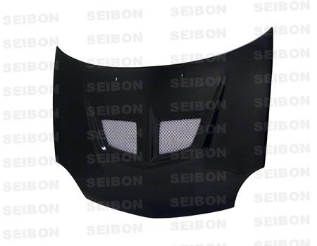 Dodge Neon  2000-2002 Evo Style Carbon Fiber Hood
