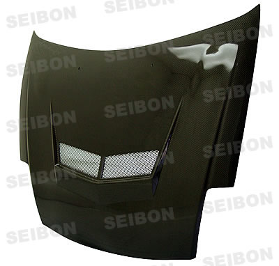 Mitsubishi Eclipse  2000-2005 Vsii Style Carbon Fiber Hood