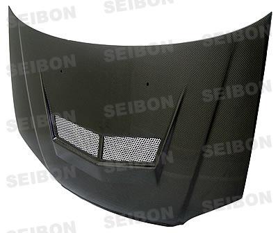 Honda Civic  2001-2003 Vsii Style Carbon Fiber Hood