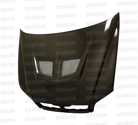 Mitsubishi Lancer  2002-2003 Evo Style Carbon Fiber Hood