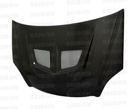 Honda Civic Si 2002-2005 Evo Style Carbon Fiber Hood