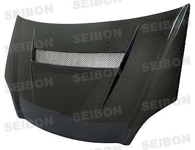 Honda Civic Si 2002-2005 Vsii Style Carbon Fiber Hood