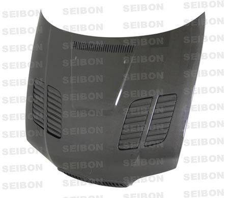 Bmw 3 Series E46 2dr 2002-2005 Gtr Style Carbon Fiber Hood