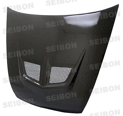 Honda Accord 2dr 2003-2007 Evo Style Carbon Fiber Hood
