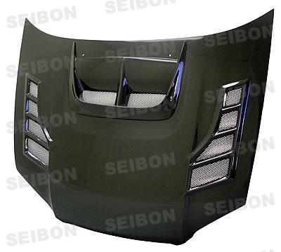 Subaru WRX / STI 2004-2005 Cw Style Carbon Fiber Hood