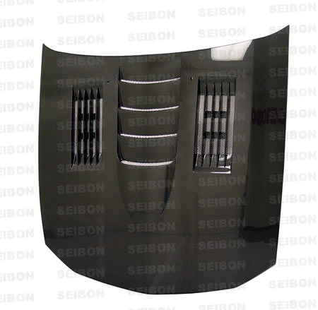 Ford Mustang  2005-2008 SS Style Carbon Fiber Hood