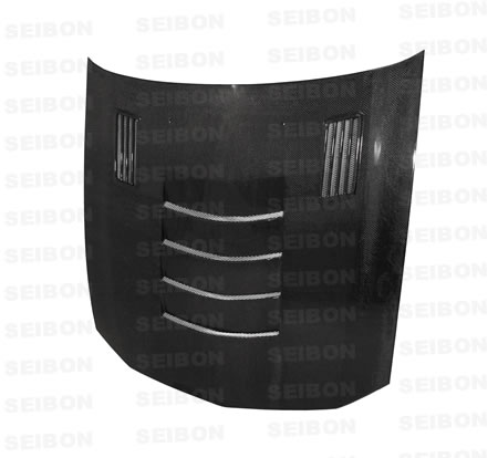 Ford Mustang  2005-2008 SSii Style Carbon Fiber Hood