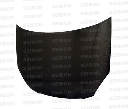 Kia Rio  2005-2006 OEM Style Carbon Fiber Hood