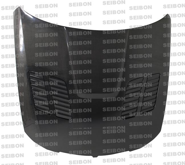 Bmw 3 Series E90 4 Dr 2005-2008 Gtr Style Carbon Fiber Hood