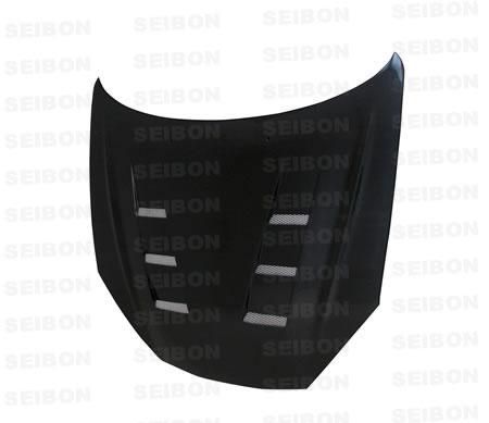 Hyundai Tiburon  2007-2008 Ts Style Carbon Fiber Hood