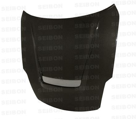 Nissan 350Z  2007-2008 Vsii Style Carbon Fiber Hood