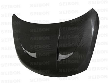 Nissan Versa  2007-2008 Vsii Style Carbon Fiber Hood