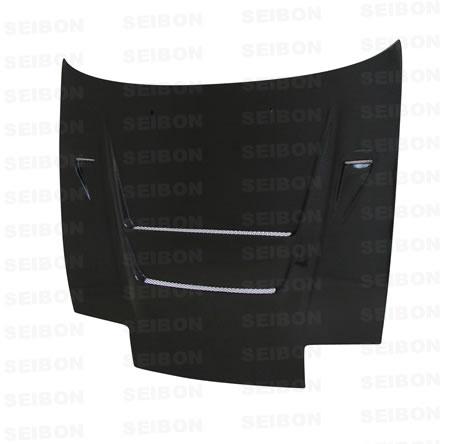 Nissan 240SX  1989-1994 Dvii Style Carbon Fiber Hood