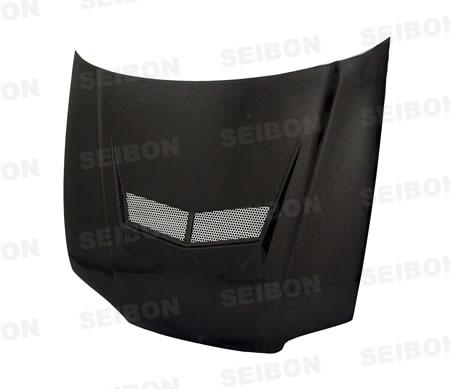 Honda Civic 2dr / Hb 1992-1995 Vsii Style Carbon Fiber Hood