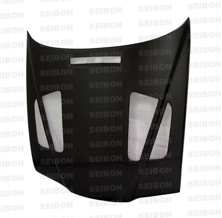 Bmw 3 Series E36 4dr 1992-1998 Er Style Carbon Fiber Hood