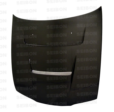 Nissan 240SX  1995-1996 Dv Style Carbon Fiber Hood