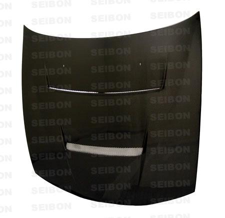 Nissan 240SX  1997-1998 Dv Style Carbon Fiber Hood
