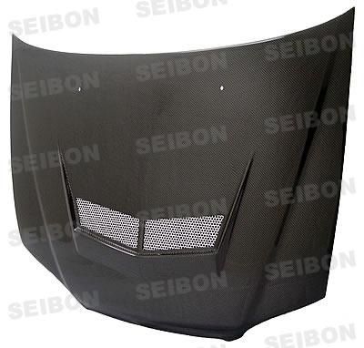 Honda Accord 2dr 1998-2002 Vsii Style Carbon Fiber Hood