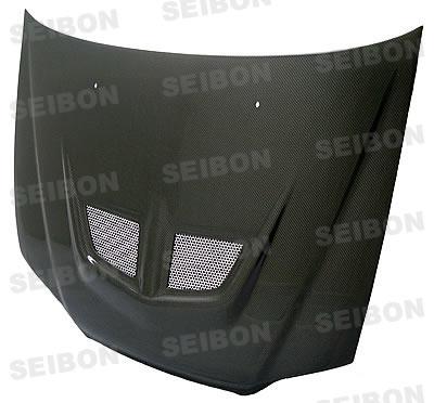Honda Accord 4dr 1998-2002 Evo Style Carbon Fiber Hood