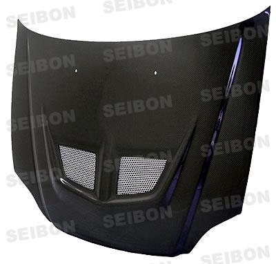 Honda Civic  1999-2000 Evo Style Carbon Fiber Hood