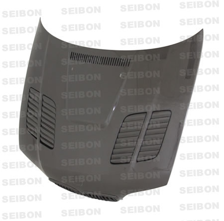Bmw 3 Series E46 2dr 1999-2002 Gtr Style Carbon Fiber Hood